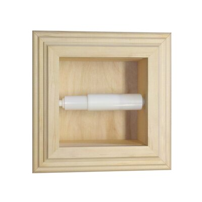 WG Wood Products Replacement Recessed Toilet Paper Holder