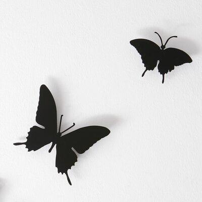 Diamantini & Domeniconi 3 Piece Butterflies Wall Décor Set