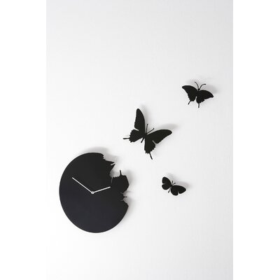 Diamantini & Domeniconi Butterfly Wall Clock