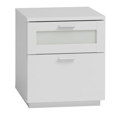 Tvilum Chelsea 2 Drawer Nightstand