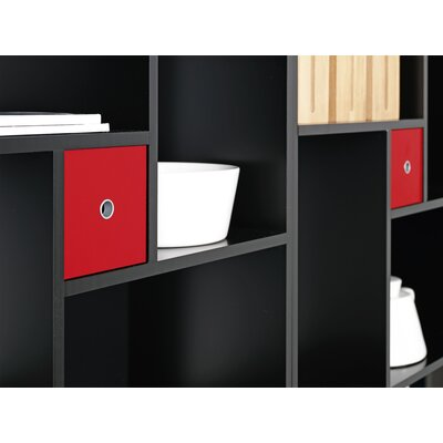 Tvilum Blink Bookcase Cube in Black