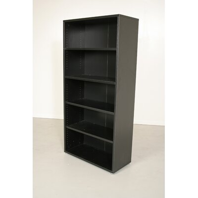 Pierce Office Five Shelf Bookcase in Coffee