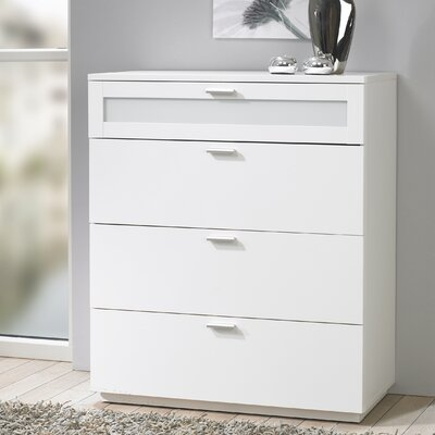 Tvilum Seattle Bedroom 4 Drawer Chest