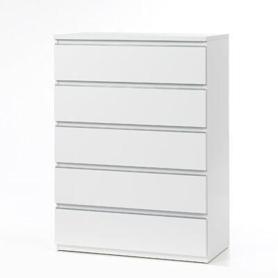Tvilum Tucson Bedroom 5 Drawer Chest