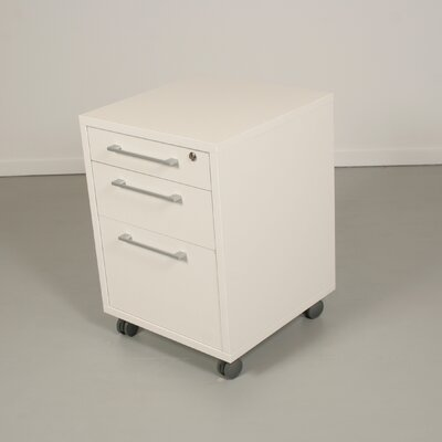 Pierce Office Mobile File in White