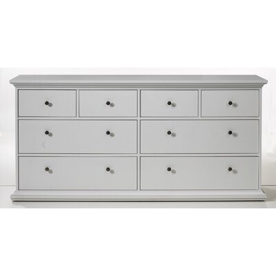 Tvilum Somerset 8 Drawer Double Dresser