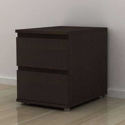 Tvilum Aurora 2 Drawer Nightstand
