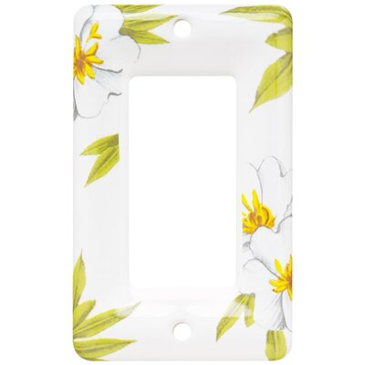 Ceramic Single Decorator Wall Plate