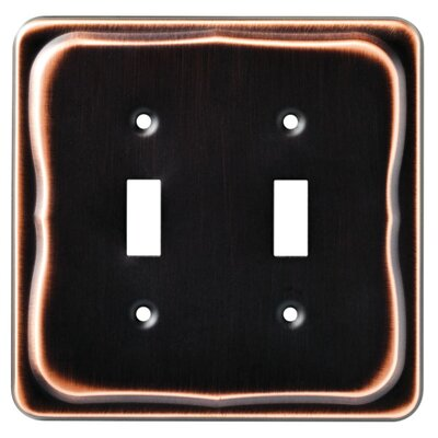 Brainerd Tenley Double Switch Wall Plate