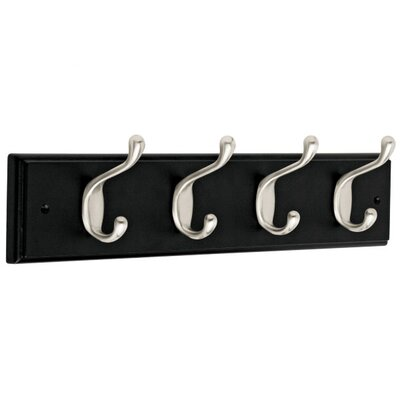 Heavy Duty 4 Hook Rail