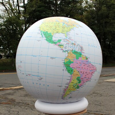 Jet Creations Political Globe with Negative Ions (Set of 12)