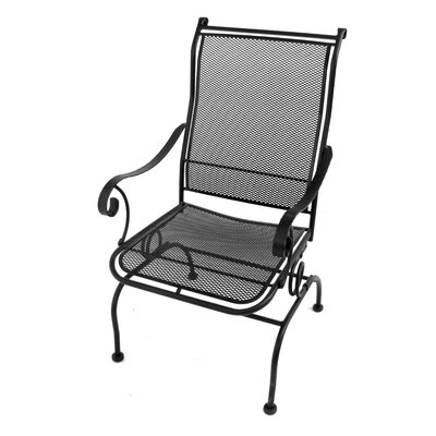 Meadowcraft Alexandria Coil Spring Dining Arm Chair