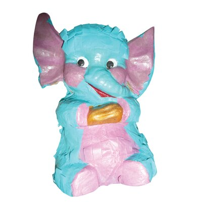 Fetch-It Pets Polly Wanna Pinatas Elephant Bird Toy