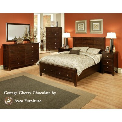 AYCA Furniture Cottage 8 Drawer Dresser