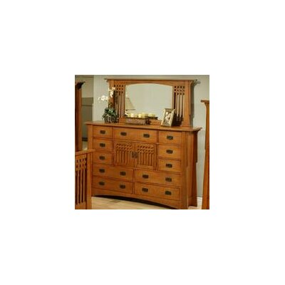 Bungalow 11 Drawer Dresser