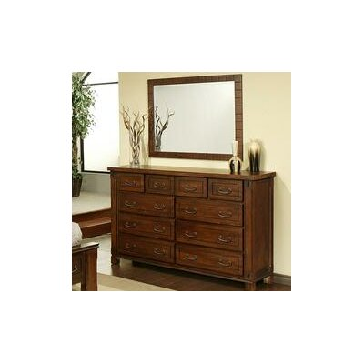 Fergus County 10 Drawer Dresser