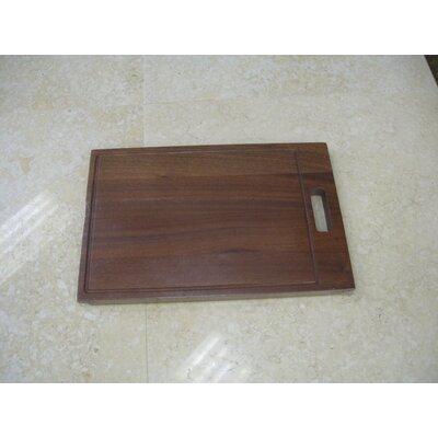 Hardwood Cutting Board for RS Series Single Bowl Sinks
