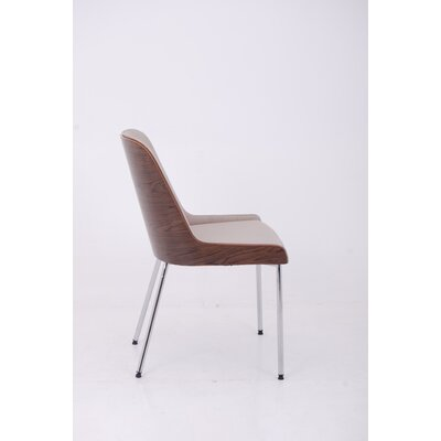 Nuans Hudson Side Chair with Steel Legs