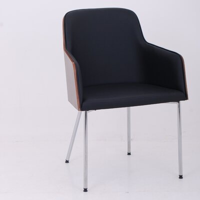 Nuans Hudson Arm Chair with Steel Legs