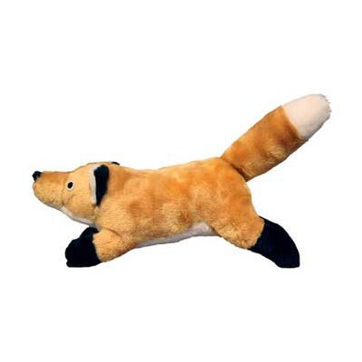 Tuffy's Pet Products Foxy Nature Fox Dog Toy