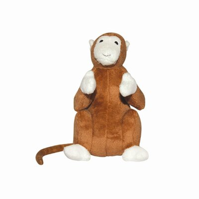Tuffy's Pet Products Mighty Junior Safari Monkey Dog Toy