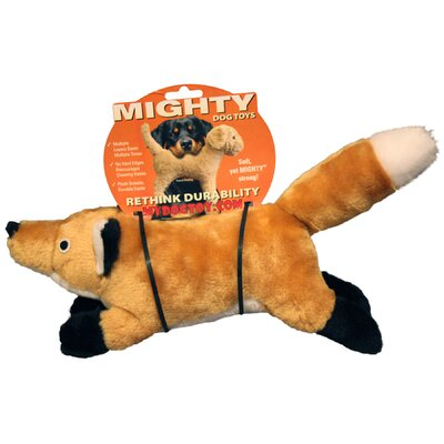Tuffy's Pet Products Mighty Junior Nature Fox Dog Toy