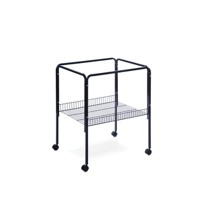 Prevue Hendryx Rolling Stand with Shelf Black