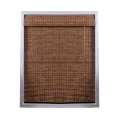 Arlo Blinds Bamboo Roman Shade in Indian Ginger
