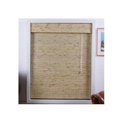 Arlo Blinds Bamboo Roman Shade in Petite Tropical Rustic