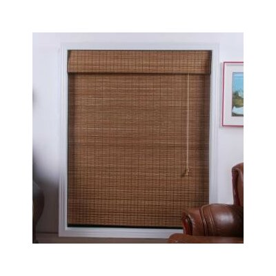 Top Blinds Arlo Blinds Bamboo Roman Shade In Indian Ginger