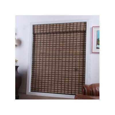 Arlo Blinds Bamboo Roman Shade in Vera Guinea