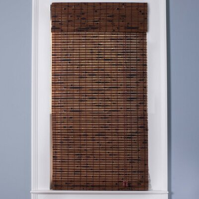 Arlo Blinds Bamboo Roman Shade in Java Vintage