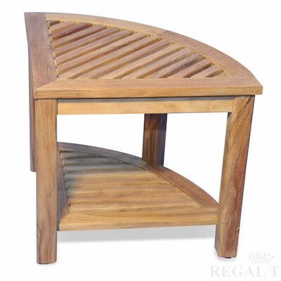Regal Teak Corner End Table