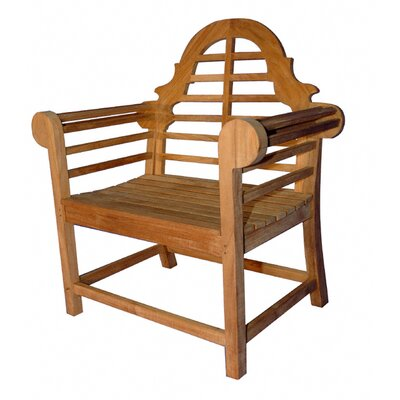 Regal Teak Marlboro Lutyens Single Arm Chair