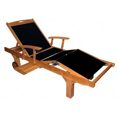 Sling Arm Chaise Lounge