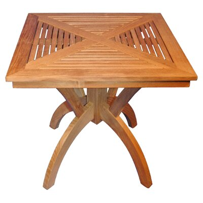 Regal Teak Pedestal Dining Table Reviews Wayfair