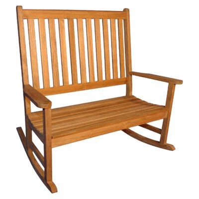 <strong>Regal Teak</strong> Teak Double Rocking Garden Bench