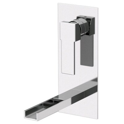 Single Handle Wall Mounted Bathroom Sink Faucet - Remer QC14US