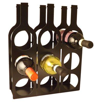 9 Bottle Tabletop Wine Rack Wf