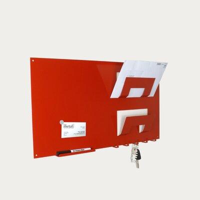 Memo board letter rack and key holder wayfair uk - Letter rack and key holder ...