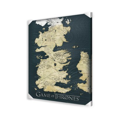 Ace Framing Game of Thrones Canvas