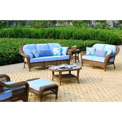 South Sea Rattan Savannah Deep Seating Group