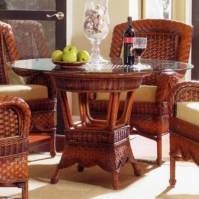 South Sea Rattan Autumn Morning 5 Piece Dining Set