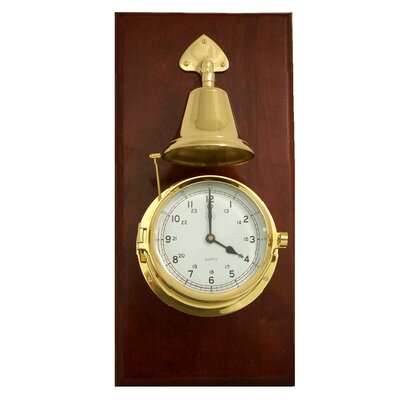 Bey-Berk Striking Wall Clock