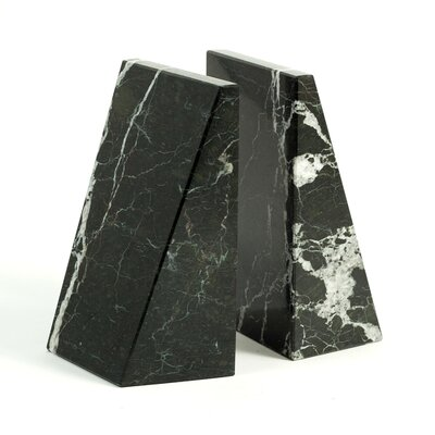 Bey-Berk Marble Bookends