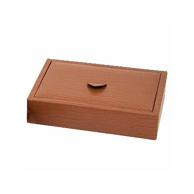 Bey-Berk Croco Accessory Tray