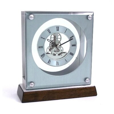 Ani Piano Skelton Movement Clock