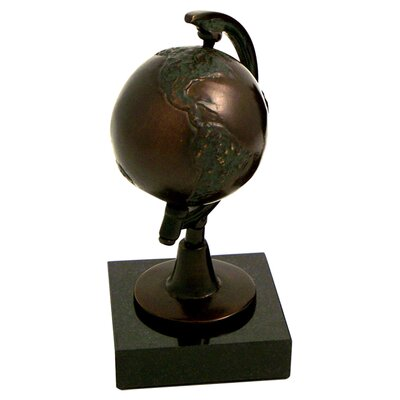 Bey-Berk Globe Bookend