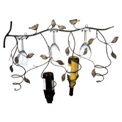 <strong>CBK</strong> 4 Bottle Wall Mount Wine Rack