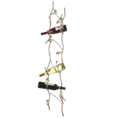 Midwest-CBK 6 Bottle Wall Mount Wine Rack